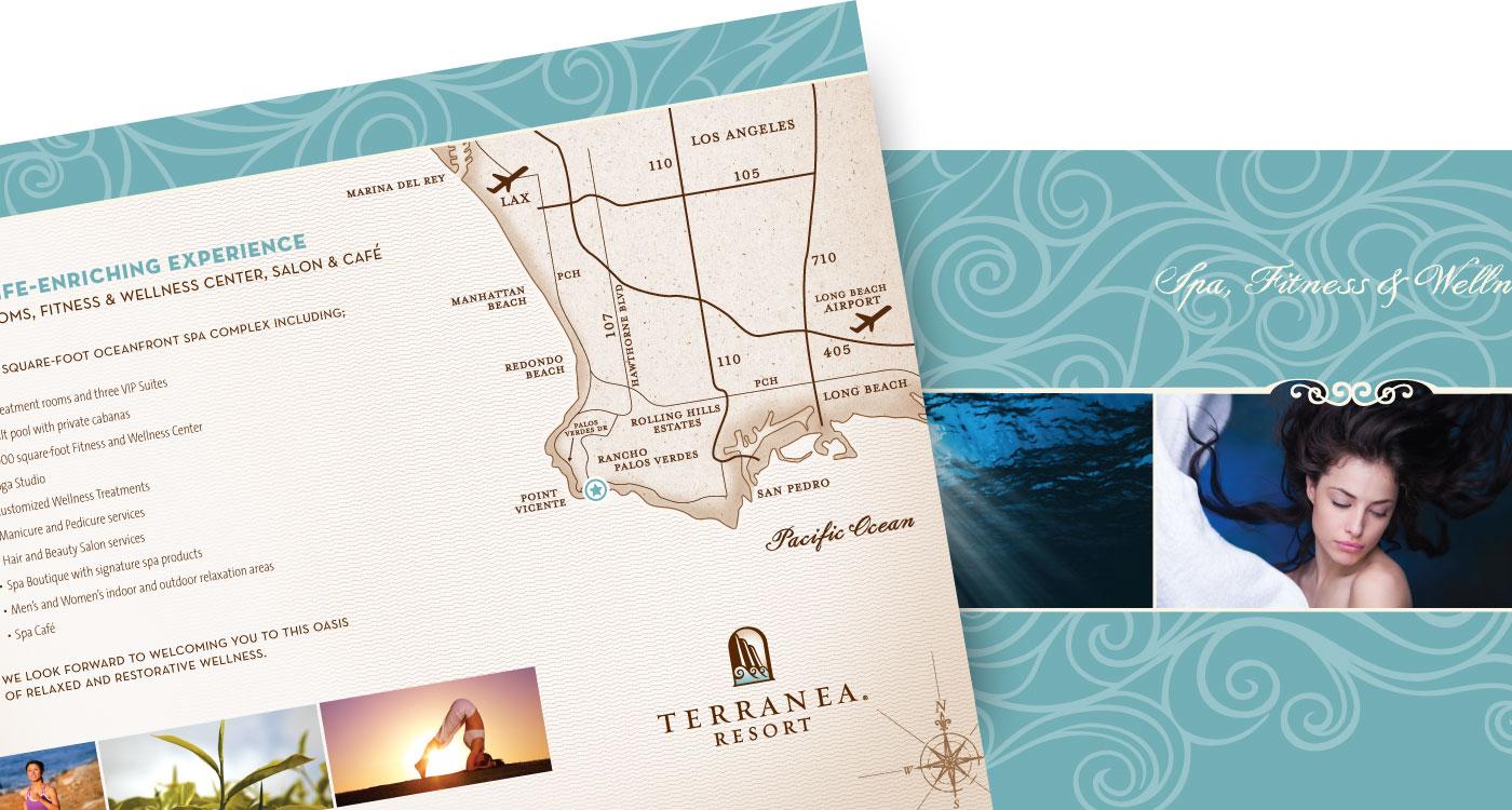 Terranea Print Collateral