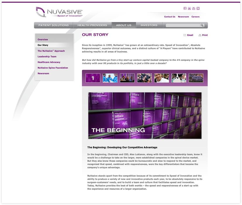 Medical Web Design- Branding, Advertising, Marketing - Jacob
